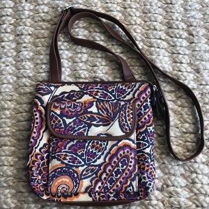 Relic crossbody purse floral fabric NwoT
